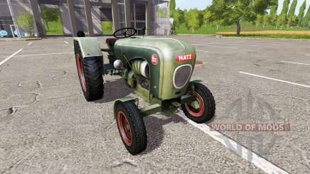 Hatz H340 para Farming Simulator 2017