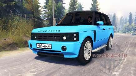 O Range Rover Sport Pintoresca para Spin Tires
