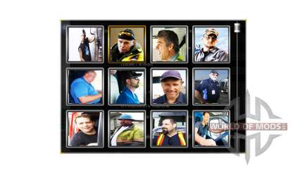 Avatares drivers de v1.1 para American Truck Simulator