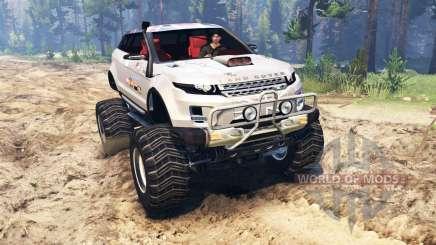 Range Rover Evoque LRX lifted para Spin Tires