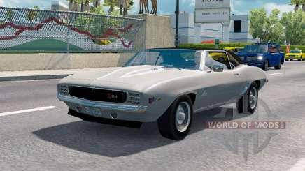 Carros clássicos para o tráfego de v1.1.1 para American Truck Simulator
