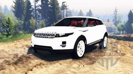 Range Rover Evoque LRX v2.0 para Spin Tires