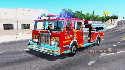 Caminhão de bombeiros para American Truck Simulator