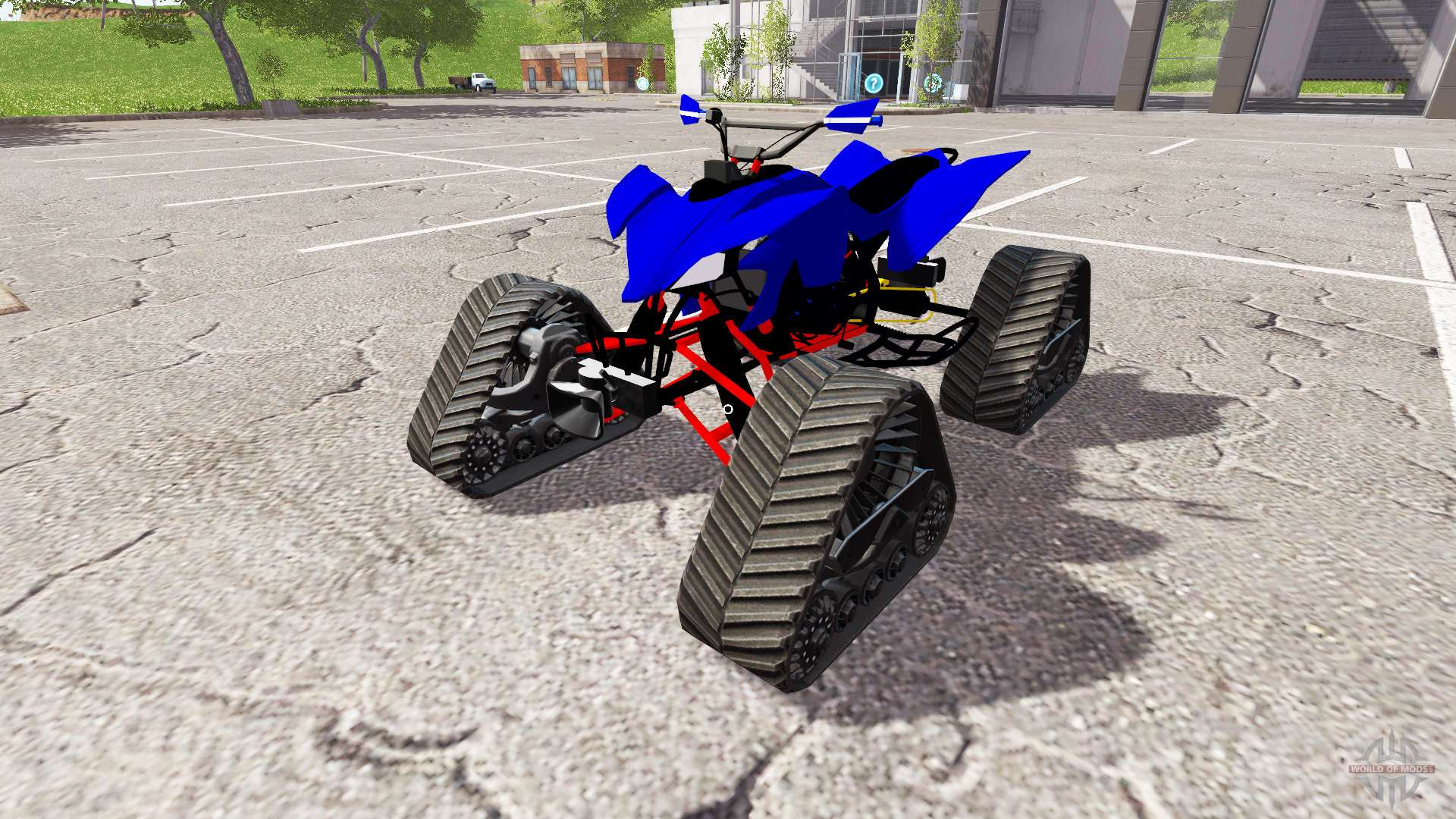Yamaha raptor para farming simulator 2017 for Yamaha raptor 2017