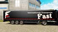 A pele Rápido Internationale de Transporte no se
