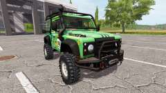 Land Rover Defender 90 Dakar v2.0