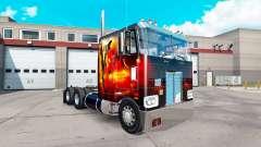 Dragão de Fogo de pele para o caminhão Peterbilt