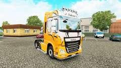 Nielsen pele para caminhões DAF