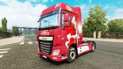 Natal pele para caminhões DAF