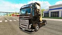 Morrendo de Luz pele para a Volvo caminhões