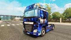 Fantasia de pele para caminhões DAF