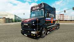 A rússia pele para a Scania T caminhão