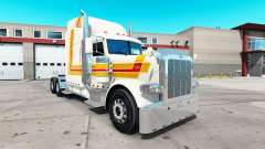 Farol da pele para o caminhão Peterbilt 389