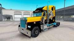Скин Caterpillar на Freightliner Clássico XL