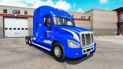 Pele Walmart no trator Freightliner Cascadia