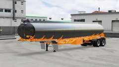 Combustível semi-reboque Polar