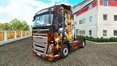 Sexy Steampunk pele para a Volvo caminhões
