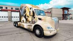 Leon pele para o caminhão Peterbilt 579