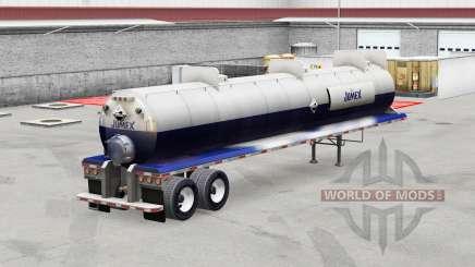 Jumex, a pele do trailer de ácidos para American Truck Simulator