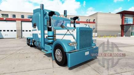 Azul Gelo pele para o caminhão Peterbilt 389 para American Truck Simulator