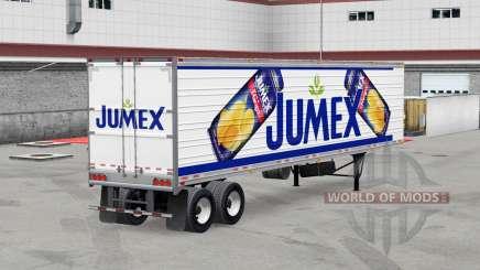 Jumex, a pele do reefer trailer para American Truck Simulator