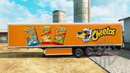 Pele Cheetos na refrigerado semi-reboque para Euro Truck Simulator 2