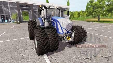 Fendt 936 Vario blue edition para Farming Simulator 2017