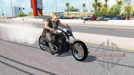 Harley-Davidson para o tráfego para American Truck Simulator