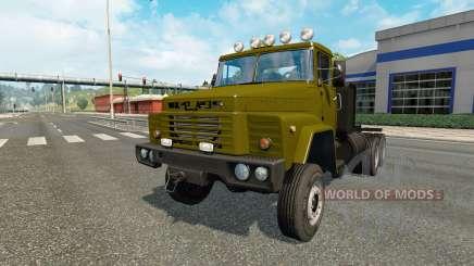 KrAZ-260 v1.16 para Euro Truck Simulator 2