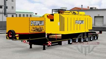 Baixa varrer com transformador Caterpillar para American Truck Simulator