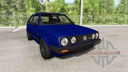 Volkswagen Golf Mk2 GTI 1987 update para BeamNG Drive