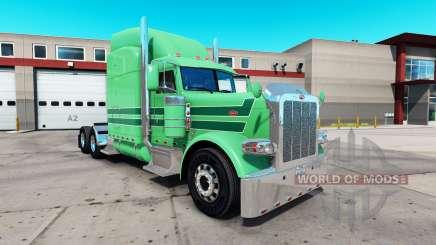 Pele A. J. Lopez para o caminhão Peterbilt 389 para American Truck Simulator