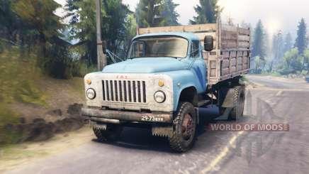 GAZ-53 para Spin Tires