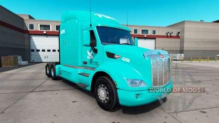 Pele TUM no trator Peterbilt 579 para American Truck Simulator