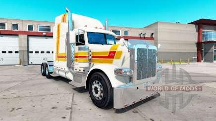Farol da pele para o caminhão Peterbilt 389 para American Truck Simulator