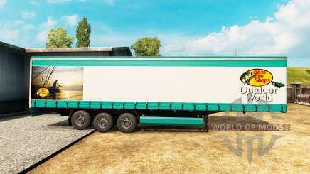 Pele Bass Pro Shops para um semi-reboque para Euro Truck Simulator 2