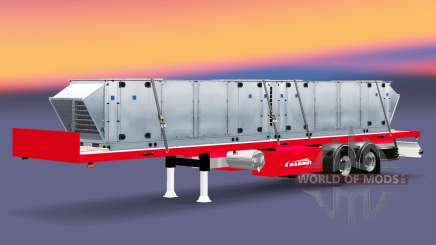 Semi-reboque-plataforma Mammut com cargas diferentes. para Euro Truck Simulator 2