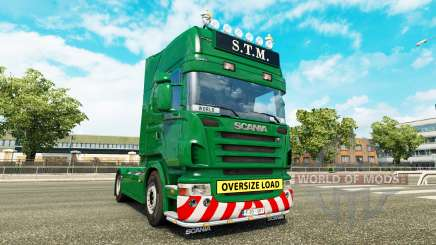 Scania R730 danmark class edition v1.15 para Euro Truck Simulator 2