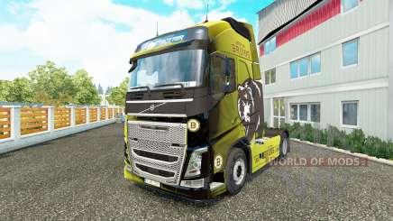 Boston Bruins pele para a Volvo caminhões para Euro Truck Simulator 2