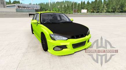Hirochi Sunburst electric v3.2 para BeamNG Drive