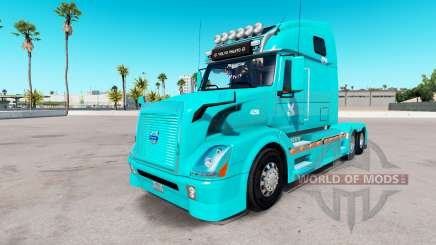 Pele TUM na Volvo trucks VNL 670 para American Truck Simulator