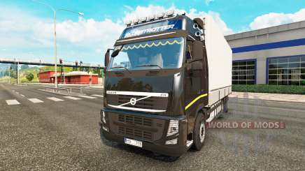 Volvo FH13 Tandem v2.1 para Euro Truck Simulator 2
