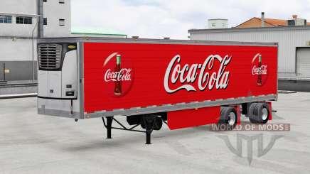 Refrigerado semi-reboque para American Truck Simulator