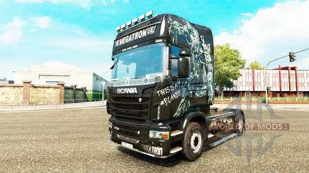 Megatron pele para o Scania truck para Euro Truck Simulator 2