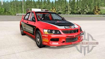 Mitsubishi Lancer Evolution IX 2006 remaster para BeamNG Drive