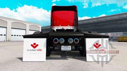 Um conjunto de pára-lamas para American Truck Simulator