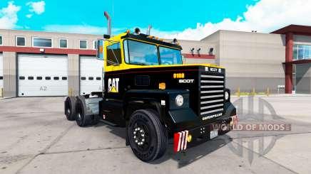 A pele da Caterpillar tractor Scot A2HD para American Truck Simulator
