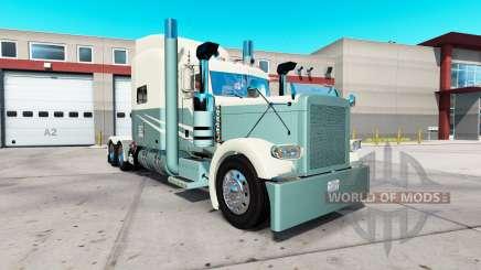 Pele Dreamscape para o caminhão Peterbilt 389 para American Truck Simulator