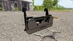 O adaptador para carregador frontal