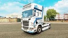 Hovotrans pele para o caminhão Scania